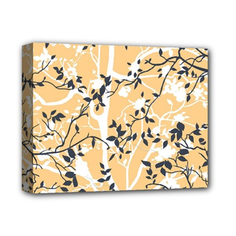 Floral Pattern Background Deluxe Canvas 14  X 11  (stretched)