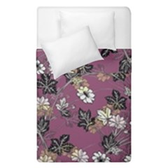 Beautiful Floral Pattern Background Duvet Cover Double Side (single Size) by Samandel