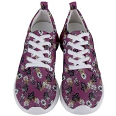Beautiful Floral Pattern Background Men s Lightweight Sports Shoes