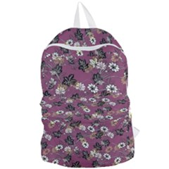 Beautiful Floral Pattern Background Foldable Lightweight Backpack by Samandel