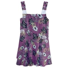 Beautiful Floral Pattern Background Kids  Layered Skirt Swimsuit by Samandel