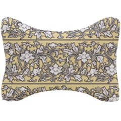 Floral Pattern Background Seat Head Rest Cushion
