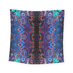 Kaleidoscope Art Pattern Ornament Square Tapestry (small)