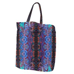 Kaleidoscope Art Pattern Ornament Giant Grocery Tote