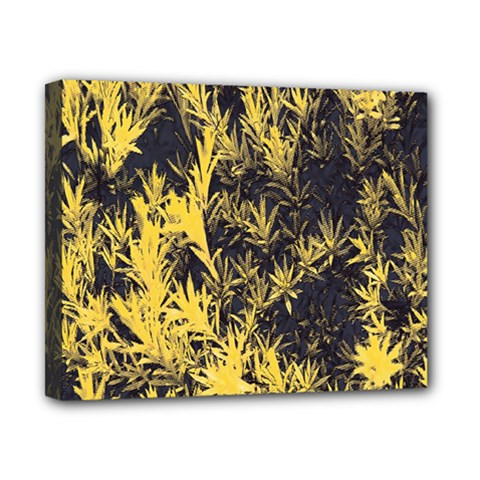 Artistic Yellow Background Canvas 10  X 8  (stretched)