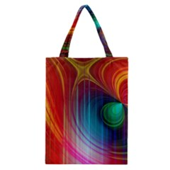 Background Color Colorful Rings Classic Tote Bag