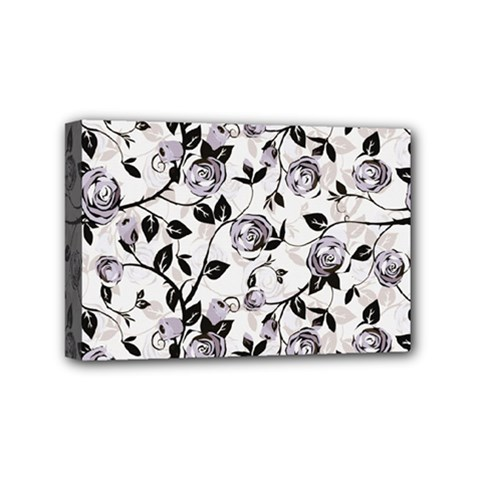 Floral Pattern Background Mini Canvas 6  X 4  (stretched)