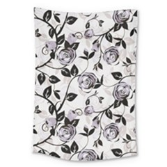Floral Pattern Background Large Tapestry by Samandel
