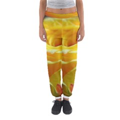 Soft Yellow Rose Women s Jogger Sweatpants