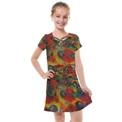Pizza Kids  Cross Web Dress by bloomingvinedesign