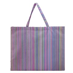 Broken Tv Screen Zipper Large Tote Bag by dressshop