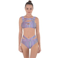 Broken Tv Screen Bandaged Up Bikini Set  by dressshop