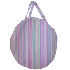 Broken Tv Screen Giant Round Zipper Tote by dressshop