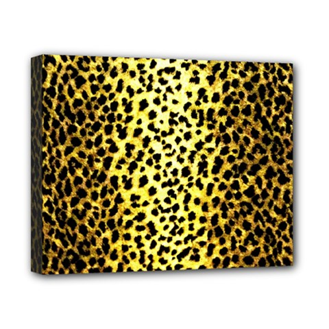 Leopard 1 Leopard A Canvas 10  X 8  (stretched) by dressshop