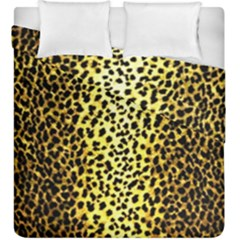 Leopard 1 Leopard A Duvet Cover Double Side (king Size) by dressshop