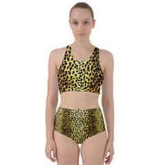Leopard 1 Leopard A Racer Back Bikini Set by dressshop