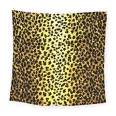 Leopard 1 Leopard A Square Tapestry (large)