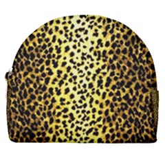 Leopard 1 Leopard A Horseshoe Style Canvas Pouch by dressshop