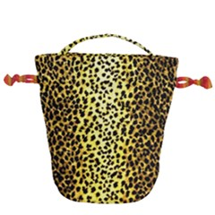 Leopard 1 Leopard A Drawstring Bucket Bag by dressshop