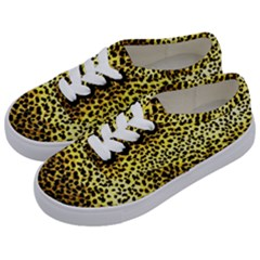 Leopard Version 2 Kids  Classic Low Top Sneakers by dressshop