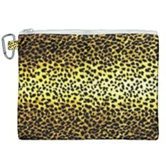 Leopard Version 2 Canvas Cosmetic Bag (xxl) by dressshop