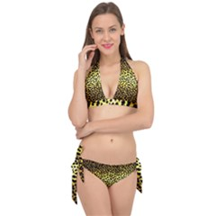 Leopard Version 2 Tie It Up Bikini Set by dressshop