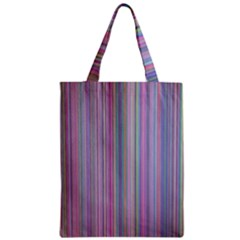 Broken Tv Screen Zipper Classic Tote Bag by dressshop