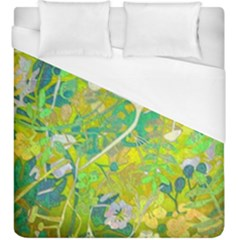 Floral 1 Abstract Duvet Cover (king Size) by dressshop