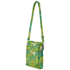 Floral 1 Abstract Multi Function Travel Bag by dressshop