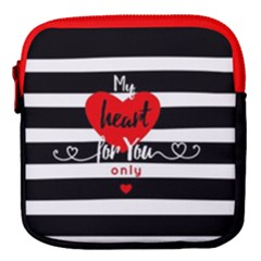 My Heart For You Only Mini Square Pouch
