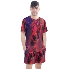 Desert Dreaming Men s Mesh Tee And Shorts Set