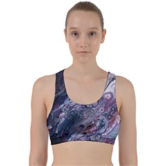Planetary Back Weave Sports Bra