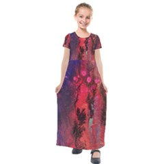 Desert Dreaming Kids  Short Sleeve Maxi Dress