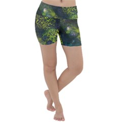 Deep In The Reef Lightweight Velour Yoga Shorts