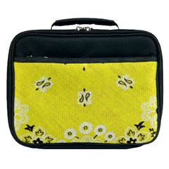 Grunge Yellow Bandana Lunch Bag by dressshop