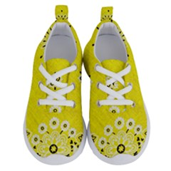 Grunge Yellow Bandana Running Shoes by dressshop