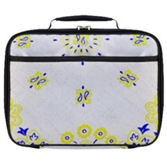 Faded Yellow Bandana Full Print Lunch Bag by dressshop