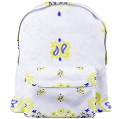 Faded Yellow Bandana Giant Full Print Backpack by dressshop