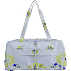 Faded Yellow Bandana Multi Function Bag by dressshop