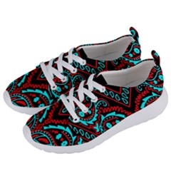 Blue And Red Bandana Women s Lightweight Sports Shoes by dressshop