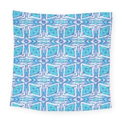 Geometric Doodle 1 Square Tapestry (large) by dressshop