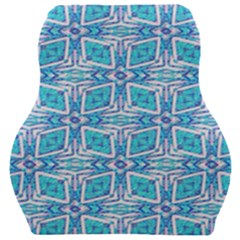 Geometric Doodle 1 Car Seat Velour Cushion  by dressshop