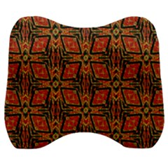 Geometric Doodle 2 Velour Head Support Cushion by dressshop