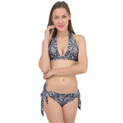 Animal Print 1 Tie It Up Bikini Set by dressshop