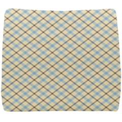 Plaid 2 Seat Cushion by dressshop