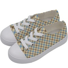 Plaid 2 Kids  Low Top Canvas Sneakers by dressshop