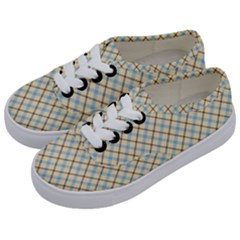 Plaid 2 Kids  Classic Low Top Sneakers by dressshop