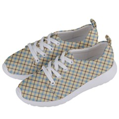 Plaid 2 Women s Lightweight Sports Shoes by dressshop