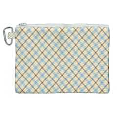Plaid 2 Canvas Cosmetic Bag (xl) by dressshop