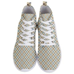 Plaid 2 Men s Lightweight High Top Sneakers by dressshop